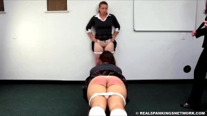 Real Spankings Institute - Maddy & Kyra: Punished By Betty And The Dean (part 1) - image 15