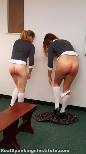 Real Spankings Institute - Maddy & Kyra: Punished By Betty And The Dean (part 2) - image 2