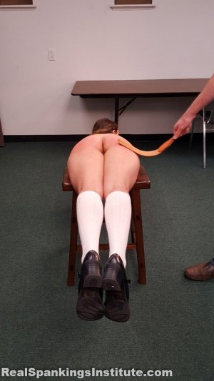 Real Spankings Institute - Kaylee Is Punished By The Dean (part 2 Of 2) - image 4