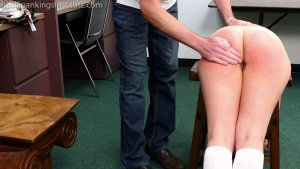 Real Spankings Institute - Kaylee: Punished By The Dean (part 1 Of 2) - image 4