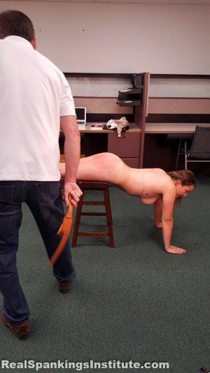 Real Spankings Institute - Kaylee Is Punished By The Dean (part 2 Of 2) - image 11