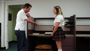 Real Spankings Institute - Kaylee: Punished By The Dean (part 1 Of 2) - image 9