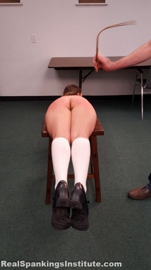 Real Spankings Institute - Kaylee Is Punished By The Dean (part 2 Of 2) - image 10
