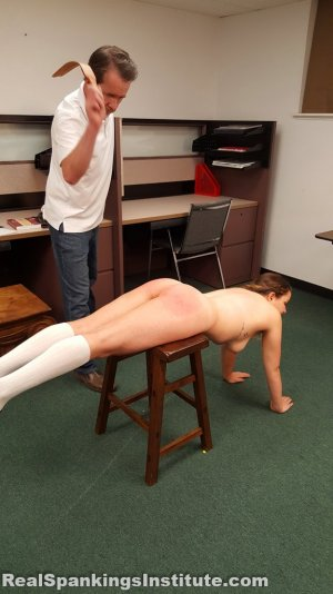 Real Spankings Institute - Kaylee Is Punished By The Dean (part 2 Of 2) - image 5
