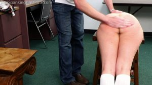 Real Spankings Institute - Kaylee: Punished By The Dean (part 1 Of 2) - image 2