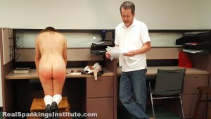 Real Spankings Institute - Kaylee Is Punished By The Dean (part 2 Of 2) - image 9