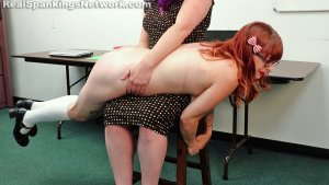 Real Spankings Institute - Miss Betty Punishes Isabella (part 1 Of 2) - image 8