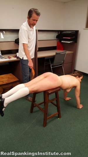 Real Spankings Institute - Kaylee Is Punished By The Dean (part 2 Of 2) - image 17