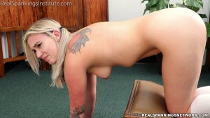 Real Spankings Institute - Cara: Strapped & Paddled (part 1) - image 10