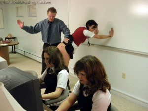Real Spankings Institute - Study Hall Spankings (part 1 Of 2) - image 8