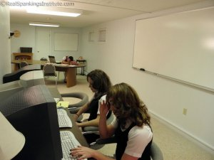 Real Spankings Institute - Study Hall Spankings (part 1 Of 2) - image 4