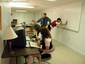 Real Spankings Institute - Study Hall Spankings (part 1 Of 2) - image 15
