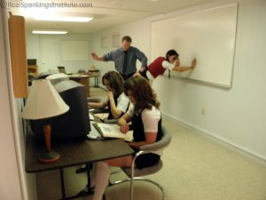 Real Spankings Institute - Study Hall Spankings (part 1 Of 2) - image 7