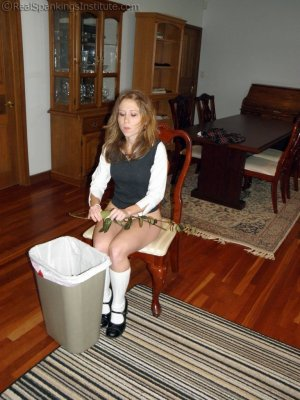Real Spankings Institute - Sophie Spanked For A Poor Job On Chores (part 2 Of 2) - image 5