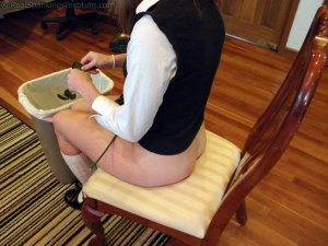 Real Spankings Institute - Sophie Spanked For A Poor Job On Chores (part 2 Of 2) - image 9