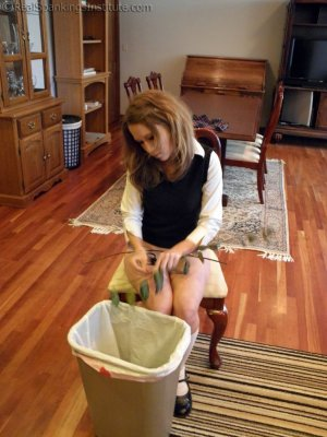 Real Spankings Institute - Sophie Spanked For A Poor Job On Chores (part 2 Of 2) - image 12