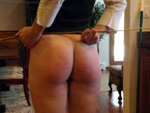Real Spankings Institute - Sophie Spanked For A Poor Job On Chores (part 2 Of 2) - image 2