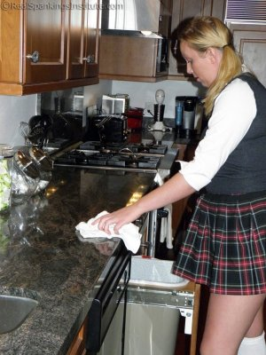 Real Spankings Institute - Spanked In The Kitchen - image 12