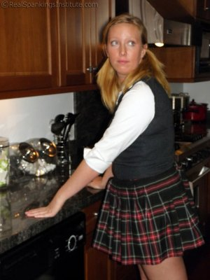 Real Spankings Institute - Spanked In The Kitchen - image 6