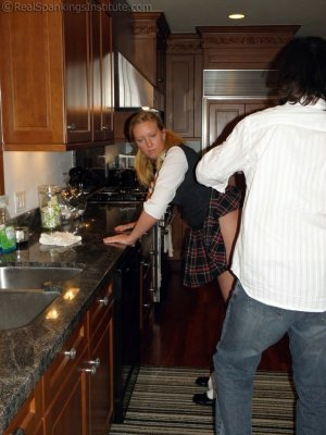 Real Spankings Institute - Spanked In The Kitchen - image 16