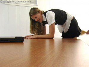 Real Spankings Institute - Monica: School Girl Paddling And Corner Time - image 5