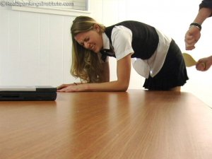 Real Spankings Institute - Monica: School Girl Paddling And Corner Time - image 6