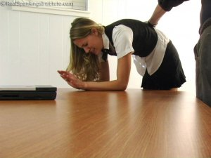 Real Spankings Institute - Monica: School Girl Paddling And Corner Time - image 14