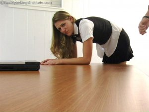 Real Spankings Institute - Monica: School Girl Paddling And Corner Time - image 7