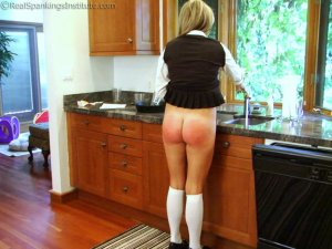 Real Spankings Institute - Riley Punished For Slacking On Her Chores (part 2 Of 2) - image 15