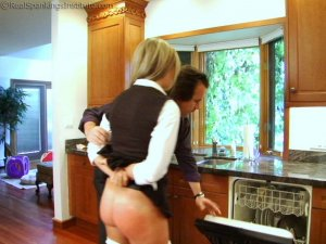 Real Spankings Institute - Riley Punished For Slacking On Her Chores (part 2 Of 2) - image 13