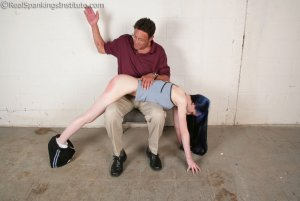 Real Spankings Institute - Mr. King Spanks Lila In The Hallway - image 6