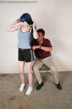 Real Spankings Institute - Mr. King Spanks Lila In The Hallway - image 16