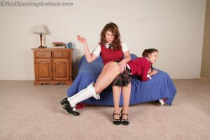 Real Spankings Institute - Erin Spanked For A Bad Attitude - image 9