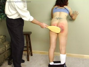 Real Spankings Institute - Jasmine Is Punished For Improper Uniform (part 2 Of 2) - image 8