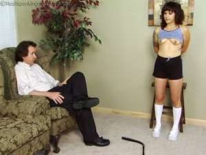 Real Spankings Institute - Jasmine Is Punished For Improper Uniform (part 1 Of 2) - image 7