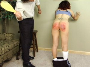 Real Spankings Institute - Jasmine Is Punished For Improper Uniform (part 2 Of 2) - image 4