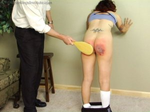 Real Spankings Institute - Jasmine Is Punished For Improper Uniform (part 2 Of 2) - image 11