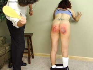 Real Spankings Institute - Jasmine Is Punished For Improper Uniform (part 2 Of 2) - image 16