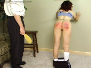 Real Spankings Institute - Jasmine Is Punished For Improper Uniform (part 2 Of 2) - image 5