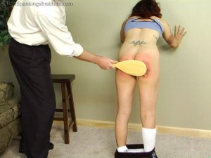 Real Spankings Institute - Jasmine Is Punished For Improper Uniform (part 2 Of 2) - image 6