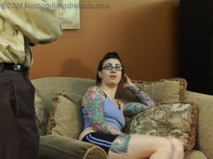 Real Spankings Institute - Jade Caught In The Teacher's Lounge - image 8