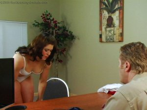Real Spankings Institute - Betty Is Caned For Disrespect - image 18