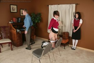Real Spankings Institute - Betty And Jade Caught Smoking (part 3 Of 3) - image 9