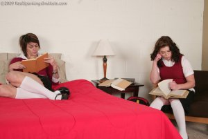 Real Spankings Institute - Betty And Jade Punished For Causing Trouble (part 1 Of 2) - image 10