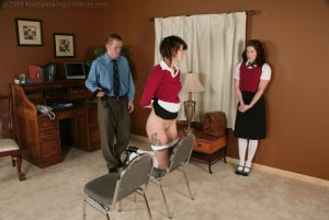 Real Spankings Institute - Betty And Jade Caught Smoking (part 3 Of 3) - image 3