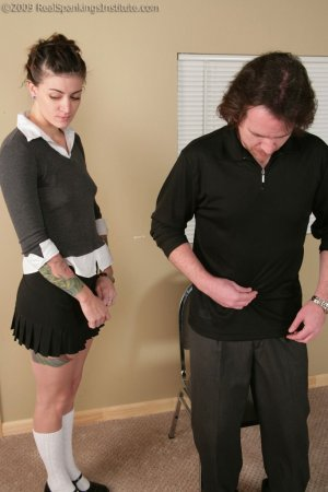 Real Spankings Institute - Jade: Handspanked By The Dean And Danny - image 9