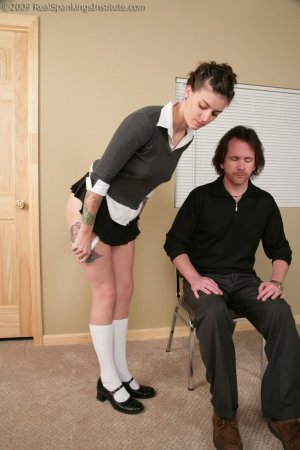 Real Spankings Institute - Jade: Handspanked By The Dean And Danny - image 14