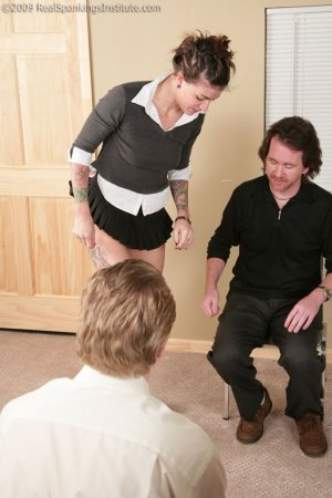 Real Spankings Institute - Jade: Handspanked By The Dean And Danny - image 13