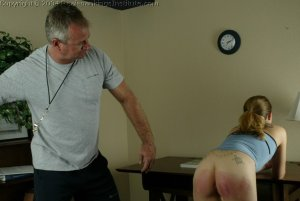 Real Spankings Institute - Jennifer Is Strapped For Smoking - image 1