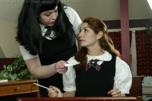 Real Spankings Institute - Betty Straps Michelle For Cheating - image 1